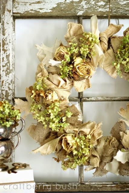 DIY homemade wreath