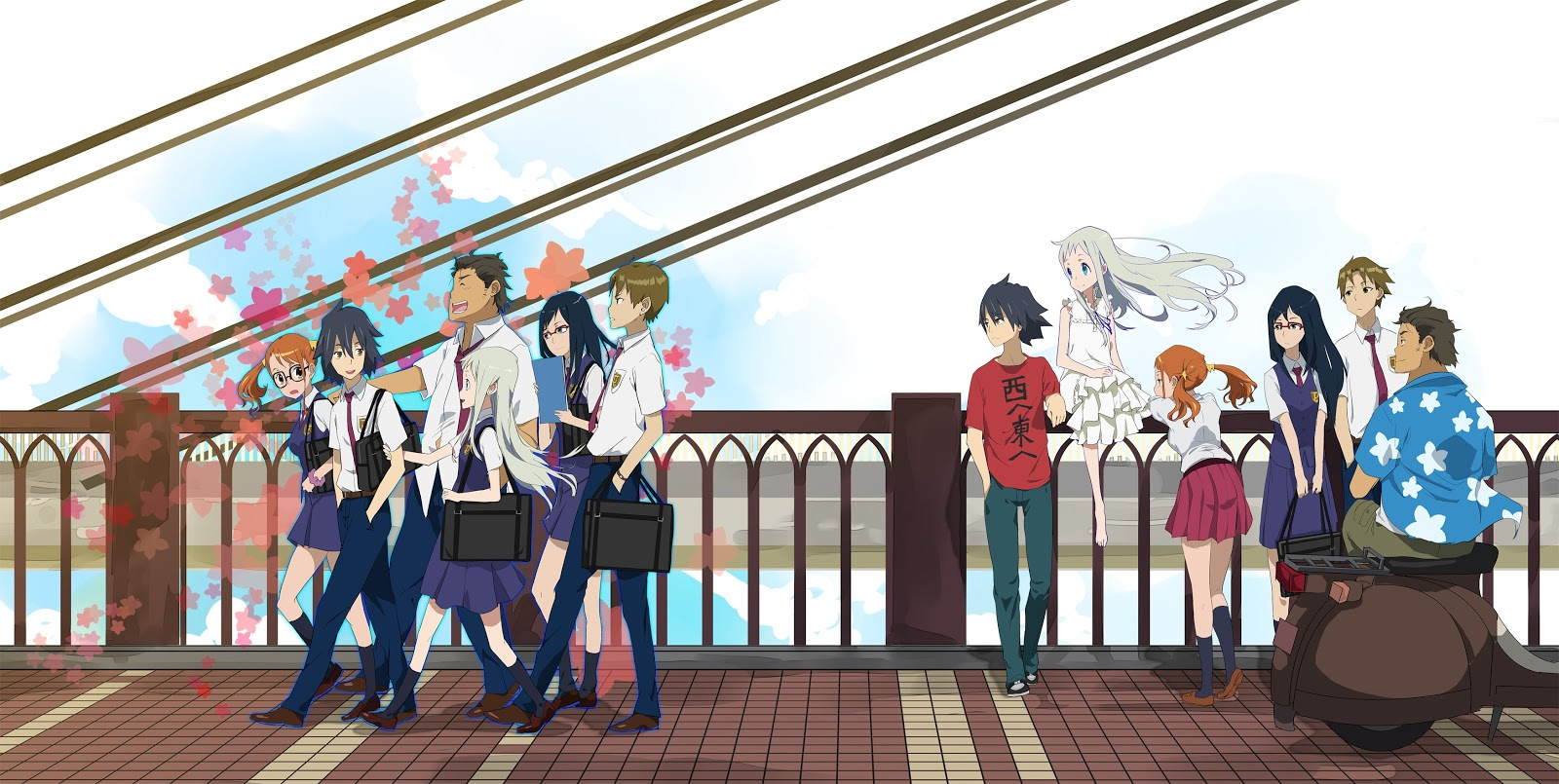 Free Download Wallpapers Anohana