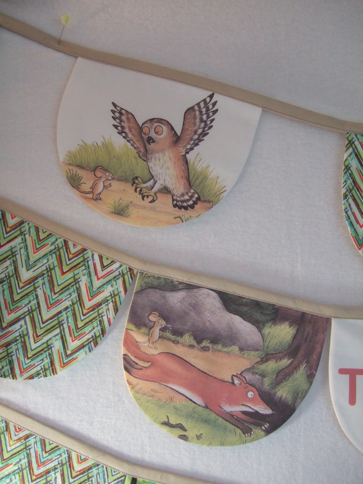 flourishing palms the gruffalo and earbud pouches