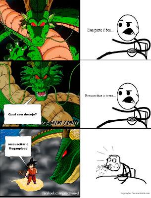 Goku você é foda!
