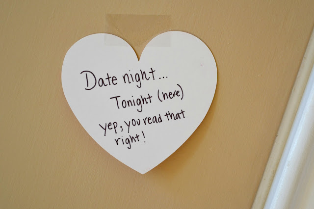 Mommy Testers date night at home note #dinnerin15 #cbias