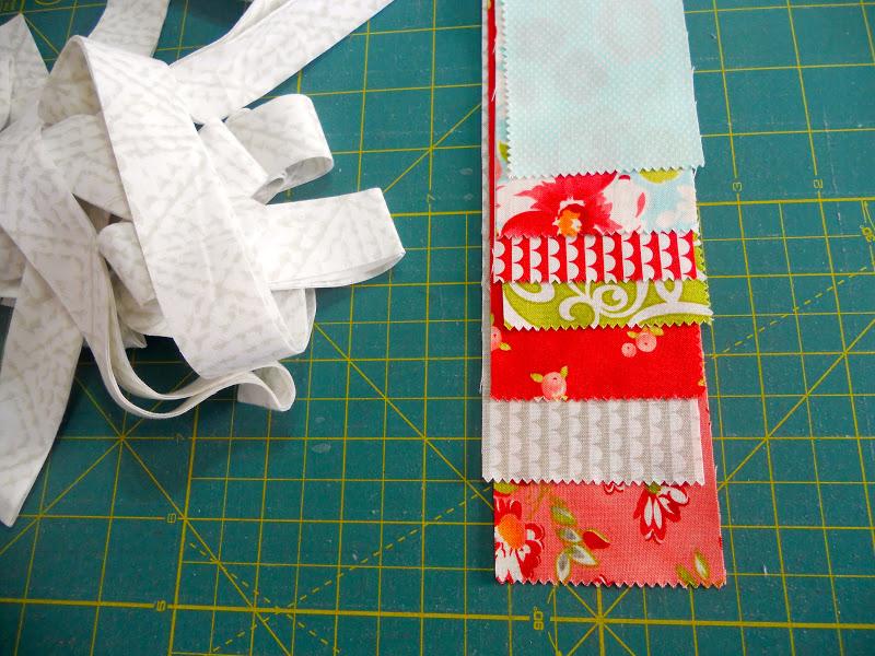 how to straighten cut edge of fabric