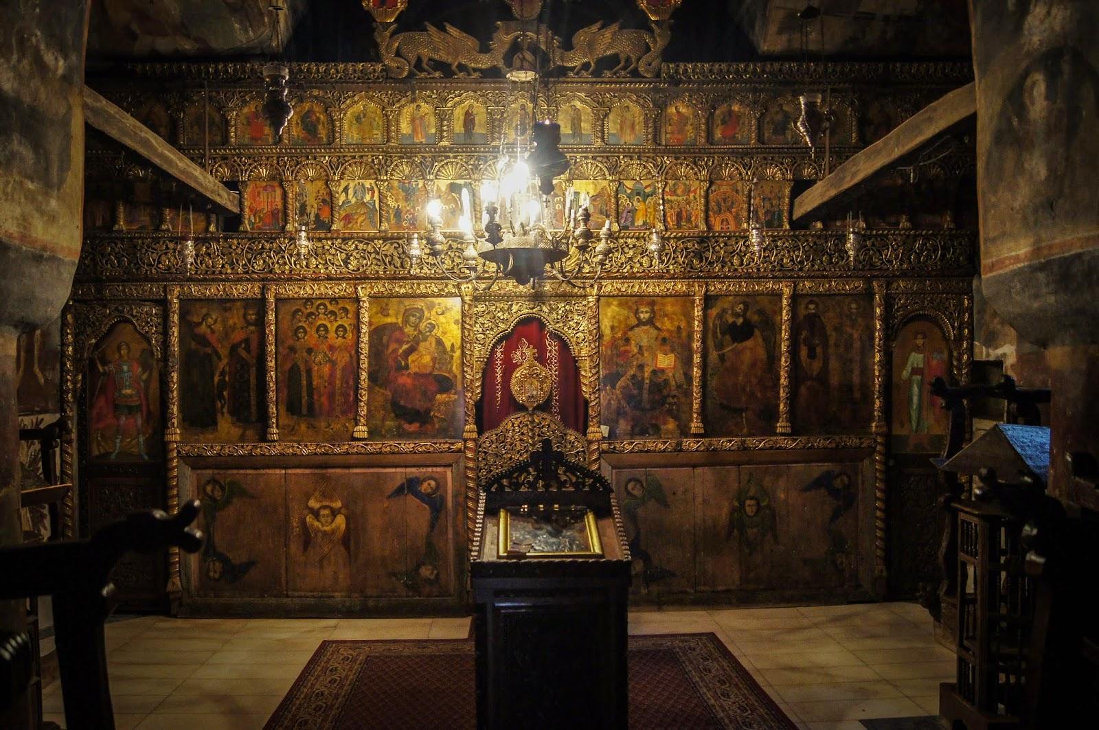 Interior de Sveti Naum