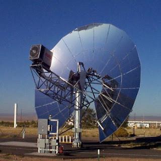 pantalla parabolica solar