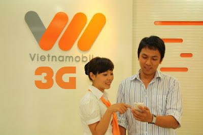 Các gói cước 3G Vietnamobile trả trước cho di động