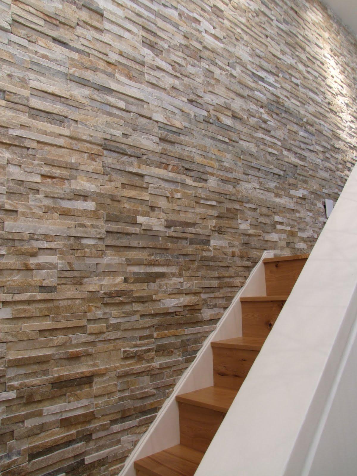 Inspiratie in natuursteen - Leisteen muur ...