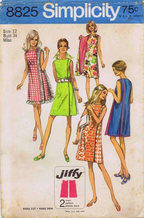 Simplicity 8825 - Jiffy Dress - duvet to dress