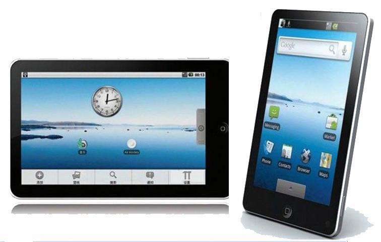 Google Android Launches on 7 Inch Tablet PC