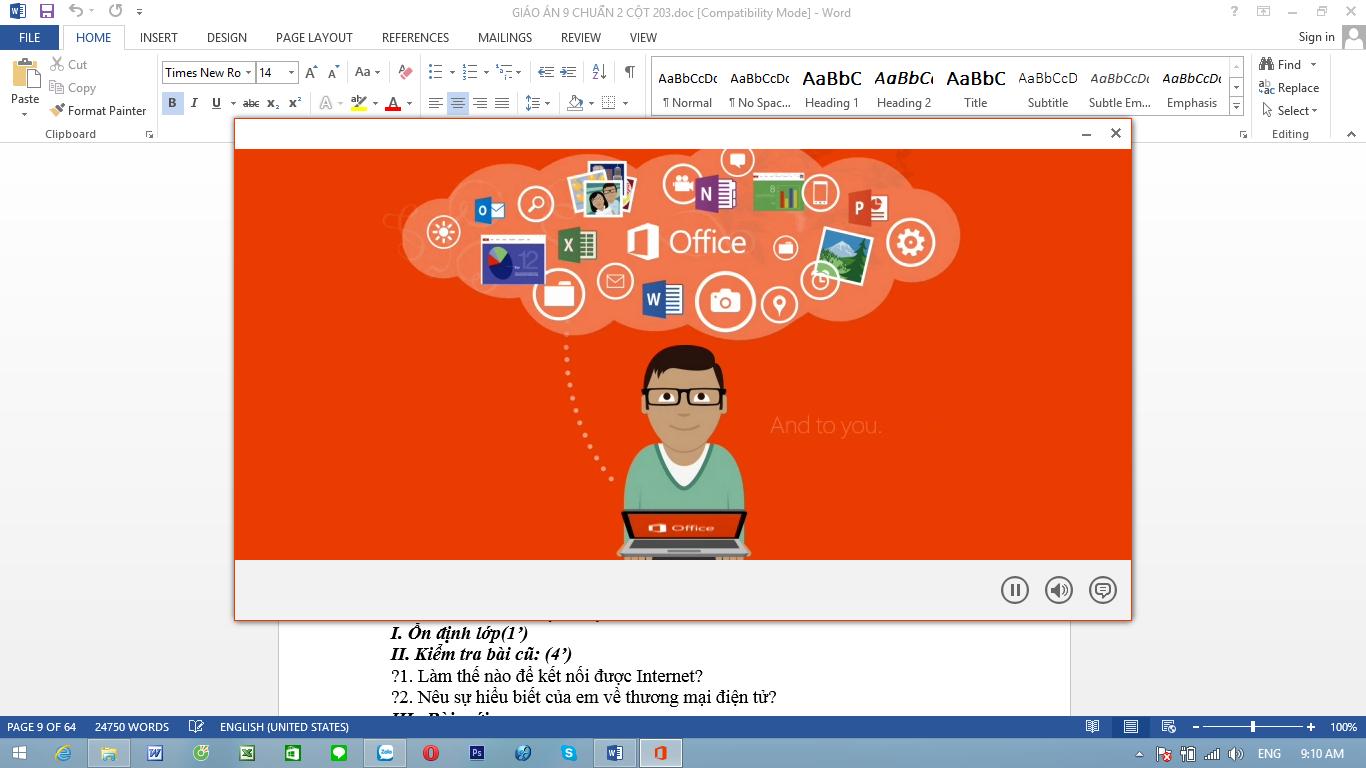 Office 2013 không cần kích hoạt