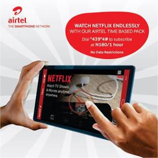 Airtel Netflix plan Netflix in Nigeria