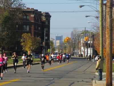Detroit Free Press Marathon 2012
