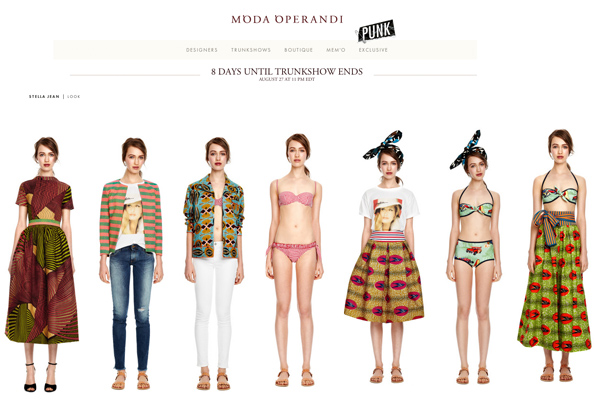Haley Sutton - Cast Images - Moda Operandi - Stella Jean