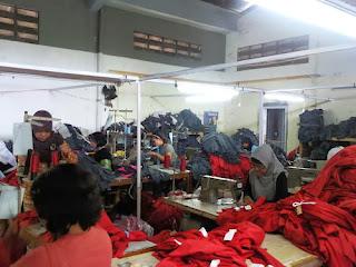 Proses produksi garmen