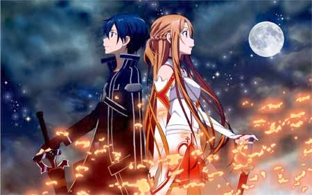 sword art on line in tv sui rai 4
