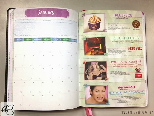 Belle De Jour Power Planner 2014 Monthly Calendar