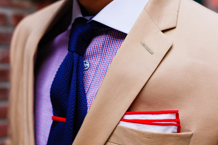 Levitate Style | J.Crew Khaki Suit & The Tie Bar, Tie the Knot, Leo Chan Alicia Mara