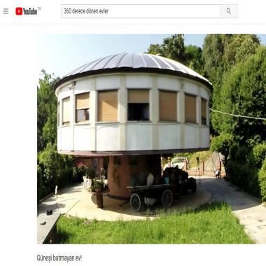 youtube com - 360 derece dönen evler