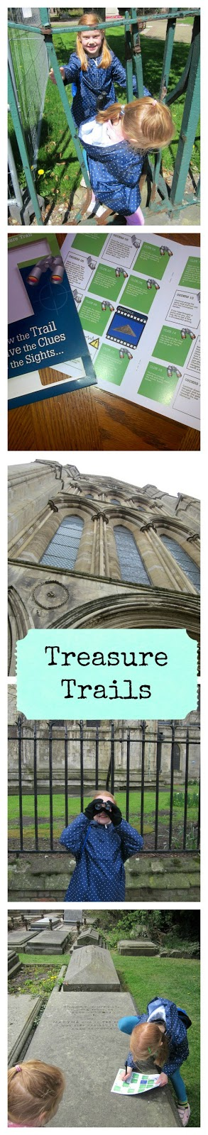 Doing a Treasure Trail in Beverley East Yorkshire