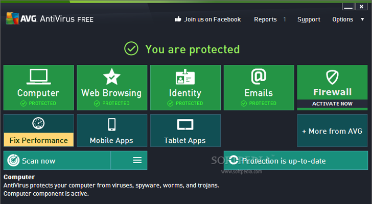 AVG Antivirus Free 2014 Review