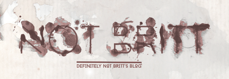 Definitely not Britt's blog