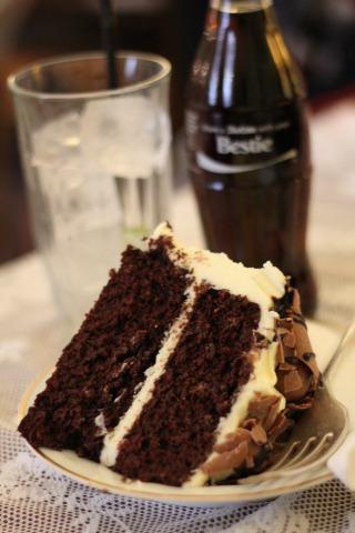 malteaser chocolate cake, diet coke, drink shop do, kings cross, cake, bloggers, tea party