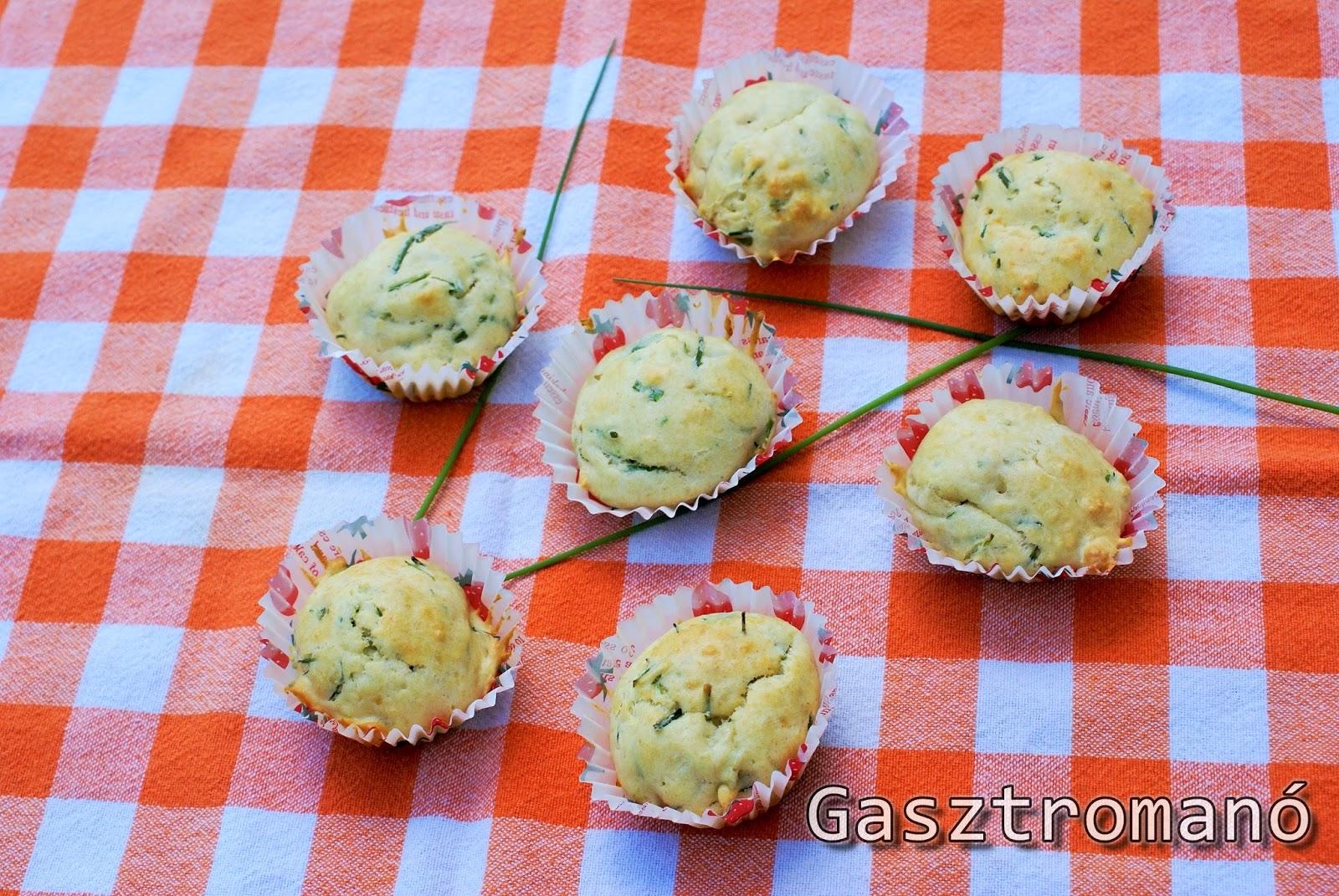 snidlinges sajtos sós muffin recept