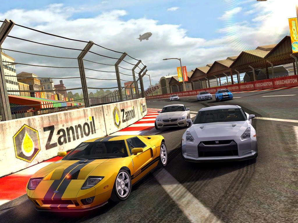 تحميل لعبة سباق السيارات الواقعية لهواتف بلاك بيري مجاناً Real Race 1.0.2.1 BB