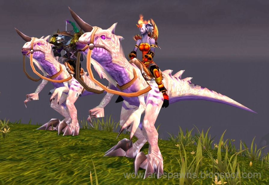 bone white primal raptor