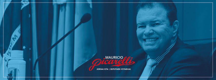 Jornalista e Deputado Estadual Mauricio Picarelli