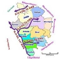 U...K  District  Map