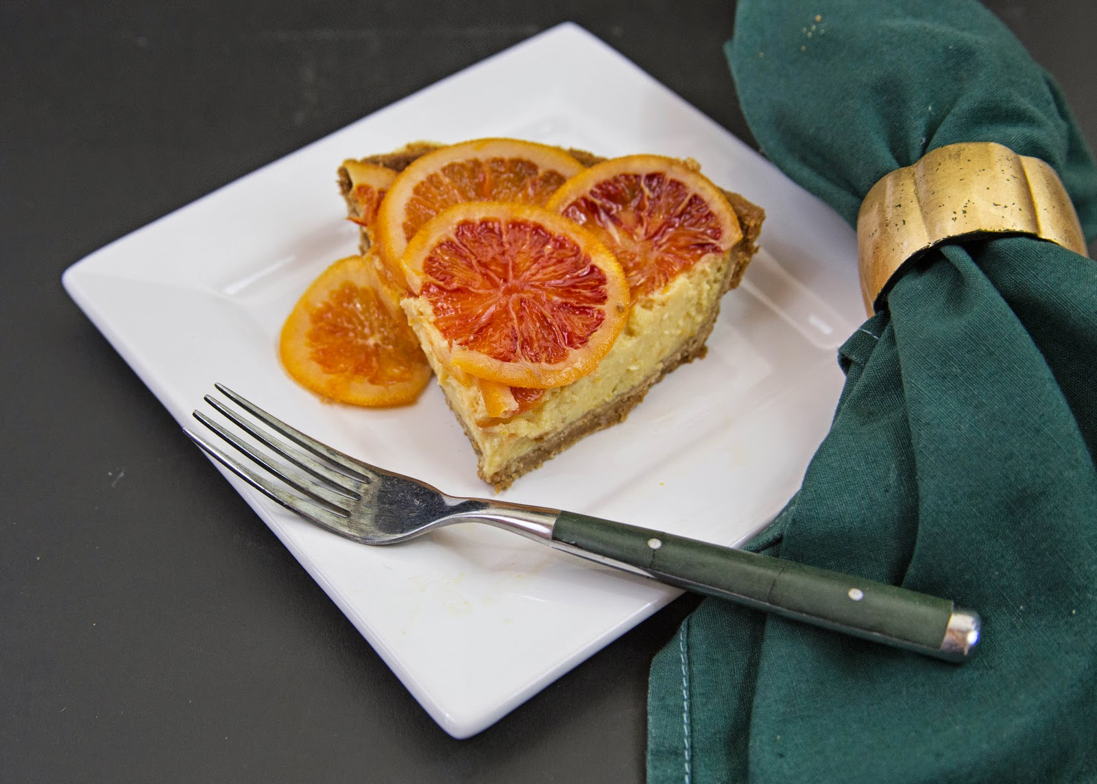 We Cook - You Cook : Blood Orange and Meyer Lemon Cream Cheese Pie