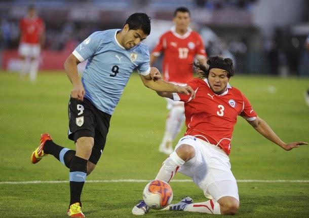 ������ ������ ����� ��������� �� ����� 18-11-2014 Chile vs Uruguay Reuters-Chile-uru.jp