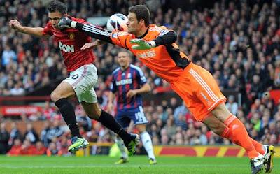 Hasil dan Video Manchester United vs Stoke City 20 Oktober 2012