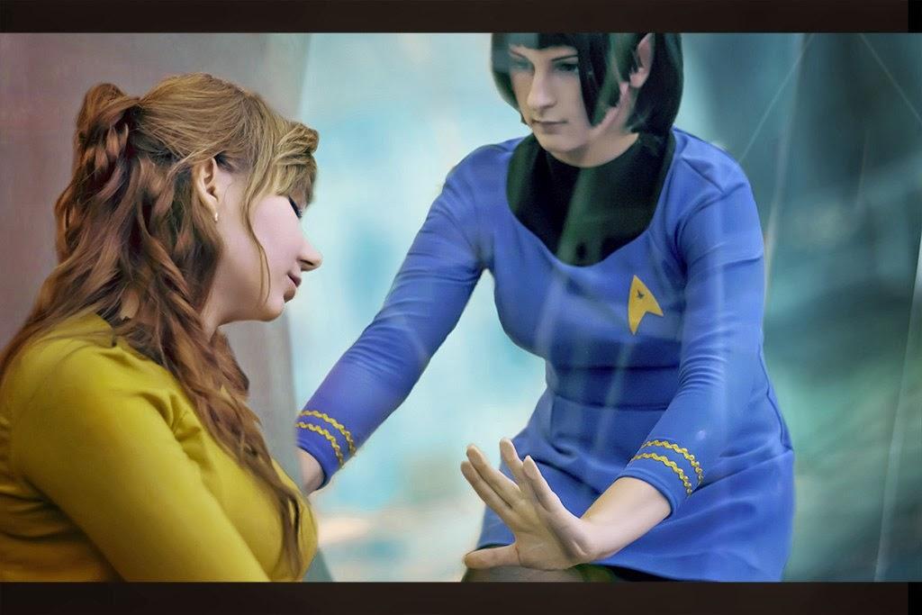 Kirk and Spock Photo by Yuna Sakuta