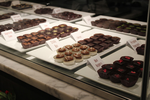 Chocolates at Cocoanuts, Boston, Mass.