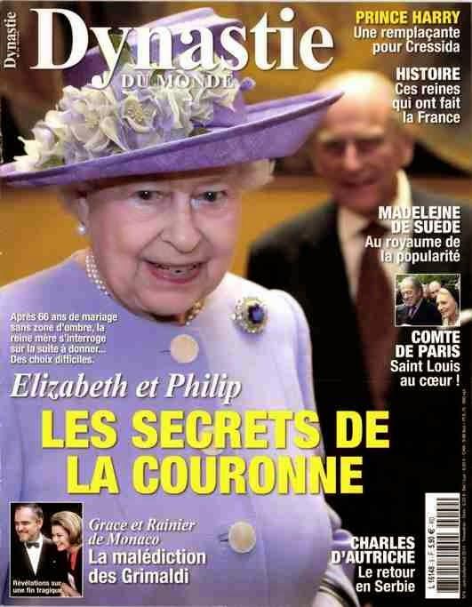 presse royale Elizabeth II