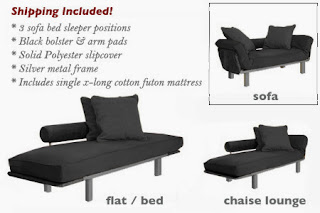The Futon Shop Single Extra Long Spacely