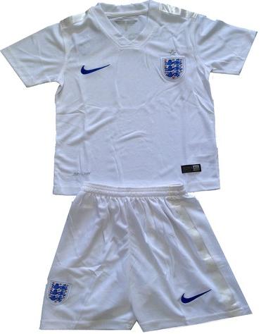 Jersey Inggris Home Kids Piala Dunia 2014