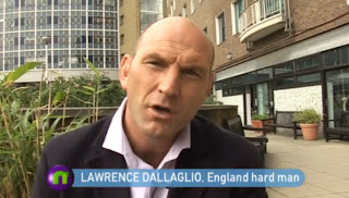 Lawrence Dallaglio on Newsround - 9th September 2011