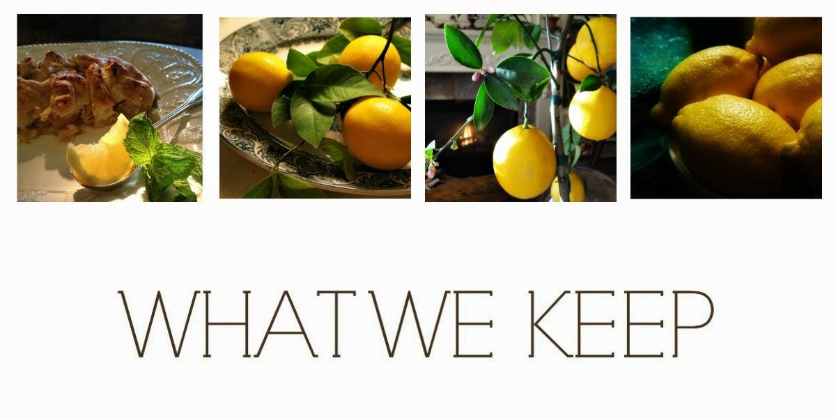 What We Keep
