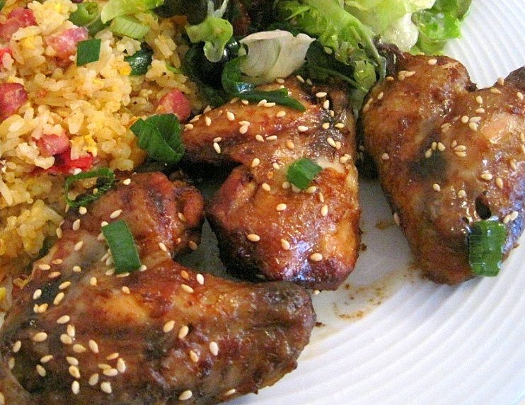 Dinner Recipes Idea: Easy Chicken Recipe: Coco-Cola Chicken Wings
