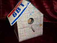 License Plate Birdhouse by SweetSomeday on UpcycleFever