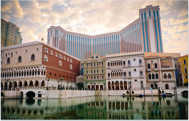 The Exterior of The Venetian Macao Resort-Hotel,by day