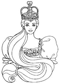 Desenhos de Princesas para imprimir