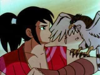 Kamui e il suo fedele Hayate