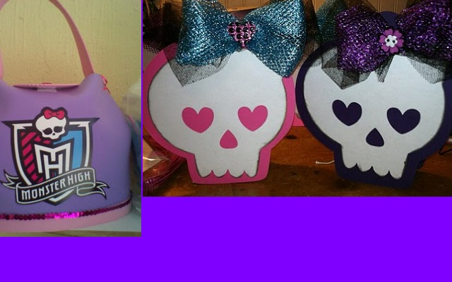 Todo Para Eventos: MAS DE MONSTER HIGH.