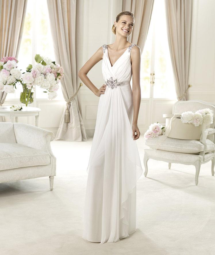 el vestido de mi boda: vestidos estilo griego