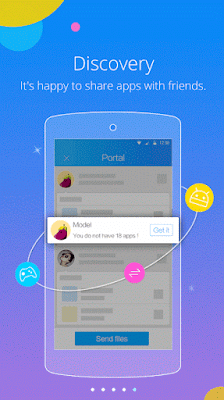 Screenshot of shareit apk for android