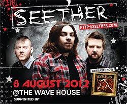 Conciertos de Seether en Bilbao y Madrid en noviembre