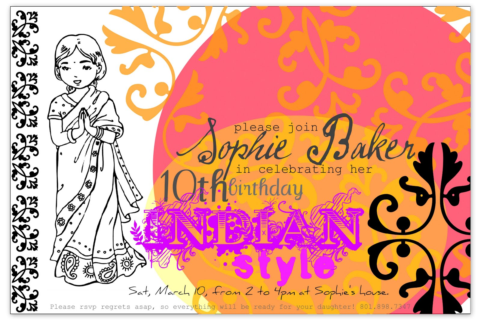 restlessrisa: Indian / Bollywood Party - Part 1 {invitations}